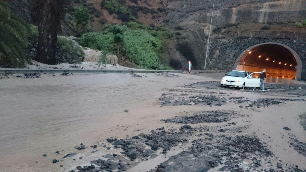 Resultado de imagen de El Cabildo invierte dos millones de euros en evitar que se inunde el túnel de La Laja