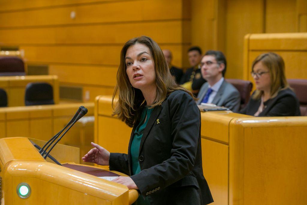 Resultado de imagen de La senadora López Santana