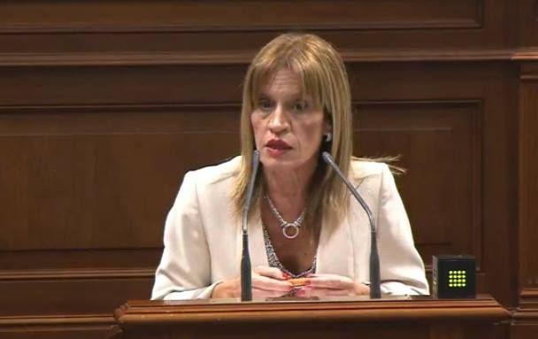 Nueva Canarias acusa al Gobierno canario de desacato negar la información a los grupos