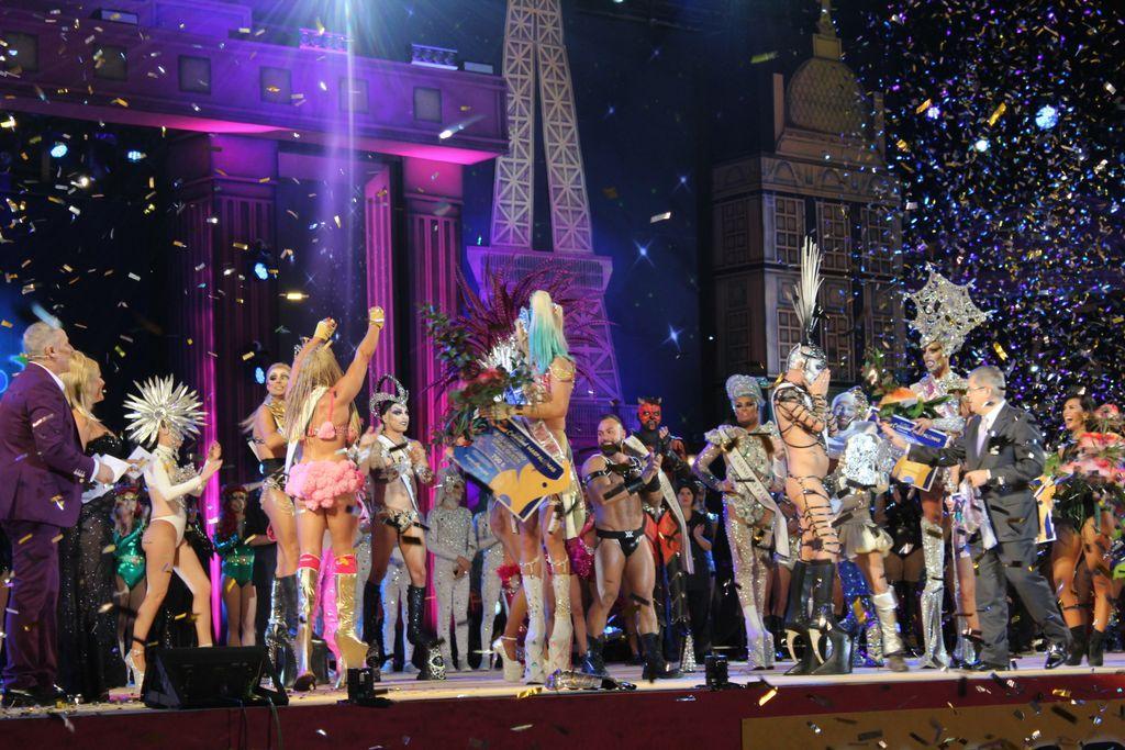 Gala Drag Queen de Maspalomas 2017.