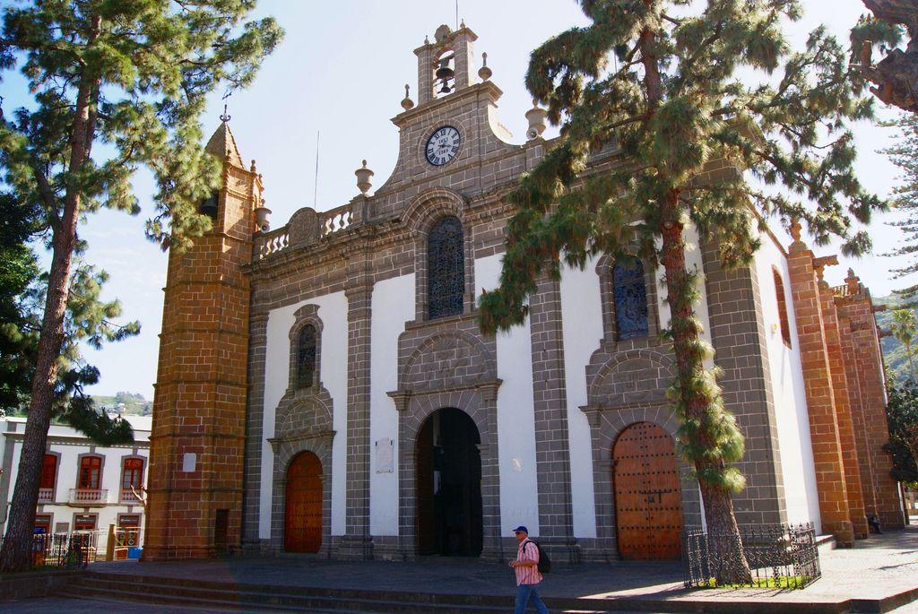 Fachada de la Basílica de Teror en la Isla de Gran Canaria. /