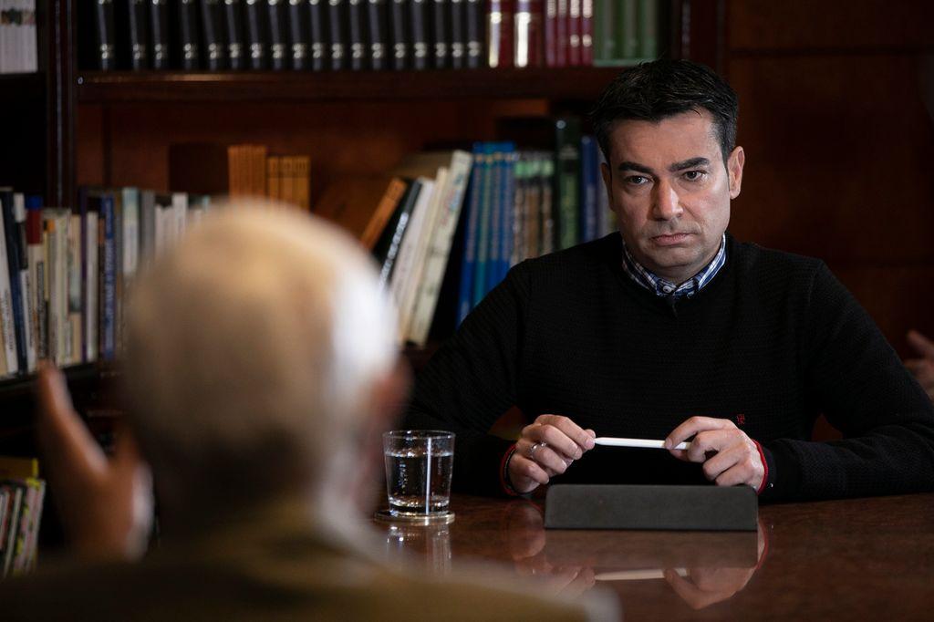 Pedro Guerra, presentador y productor ejecutivo de 'Confesiones'. / Carlos Díaz-Recio