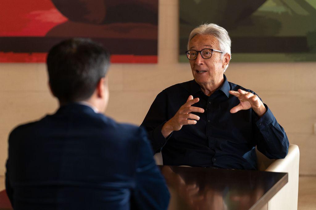 José Carlos Hernández Rizo durante la cita con 'Confesiones'. / Miguel Barreto.