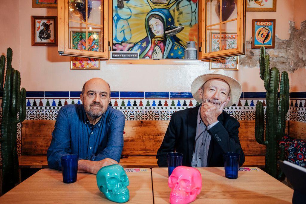 Piedra Pómez en el restaurante 'Chiwawa' para 'Confesiones'./ Carlos Díaz-Recio